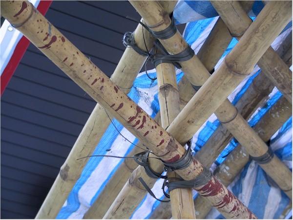 Reto In Hong Kong Bambus Gerust Im Detail