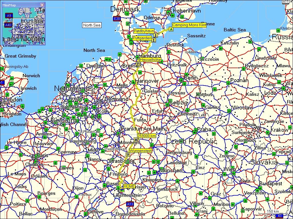 campingplätze deutschland karte reise nach dänemark und südschweden sommer 2007   11 august 2007