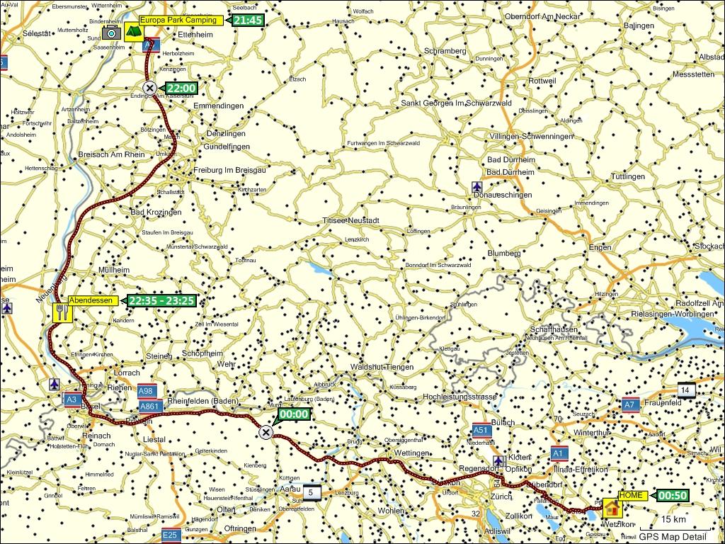 Europa Park Karte.Reise Nach Mittelnorwegen Und Sudschweden Sommer 2009