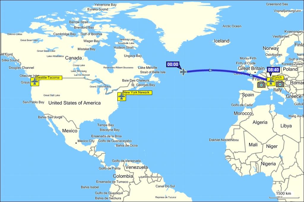 Reise Durch Westkanada Sommer 2010 Karte 14 August 2010